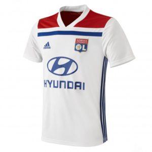 Maillot Domicile Adulte OL - T-Shirt Olympique Lyonnais