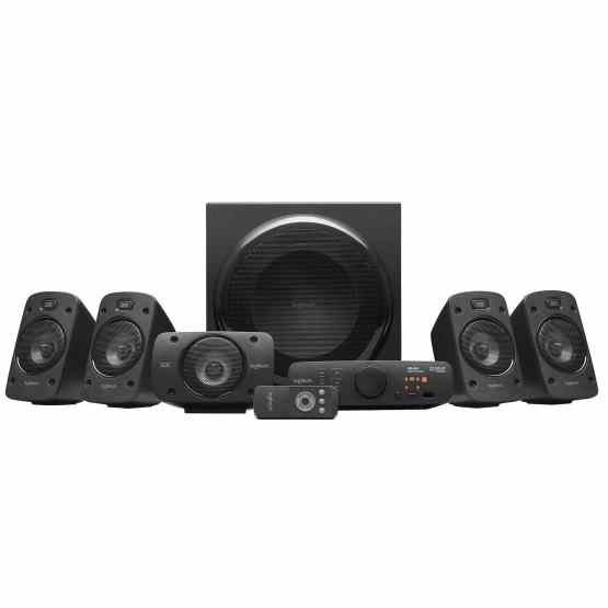 ENCEINTES STEREO 3D Z906 AVEC DOLBY SURROUND 51 – THX – 1000 W – LOGITECH