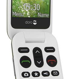 TÉLÉPHONE PORTABLE PHONE 6050 DEBLOQUE NOIR – DORO