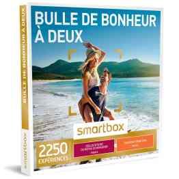 SMARTBOX – COFFRET CADEAU – BULLE DE BONHEUR A DEUX – 1285 ACTIVITES : DEGUSTATION OU AVENTURE