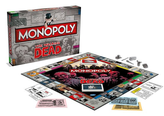 MONOPOLY THE WALKING DEAD – VERSION FRANCAISE –WINNING MOVES – 0952