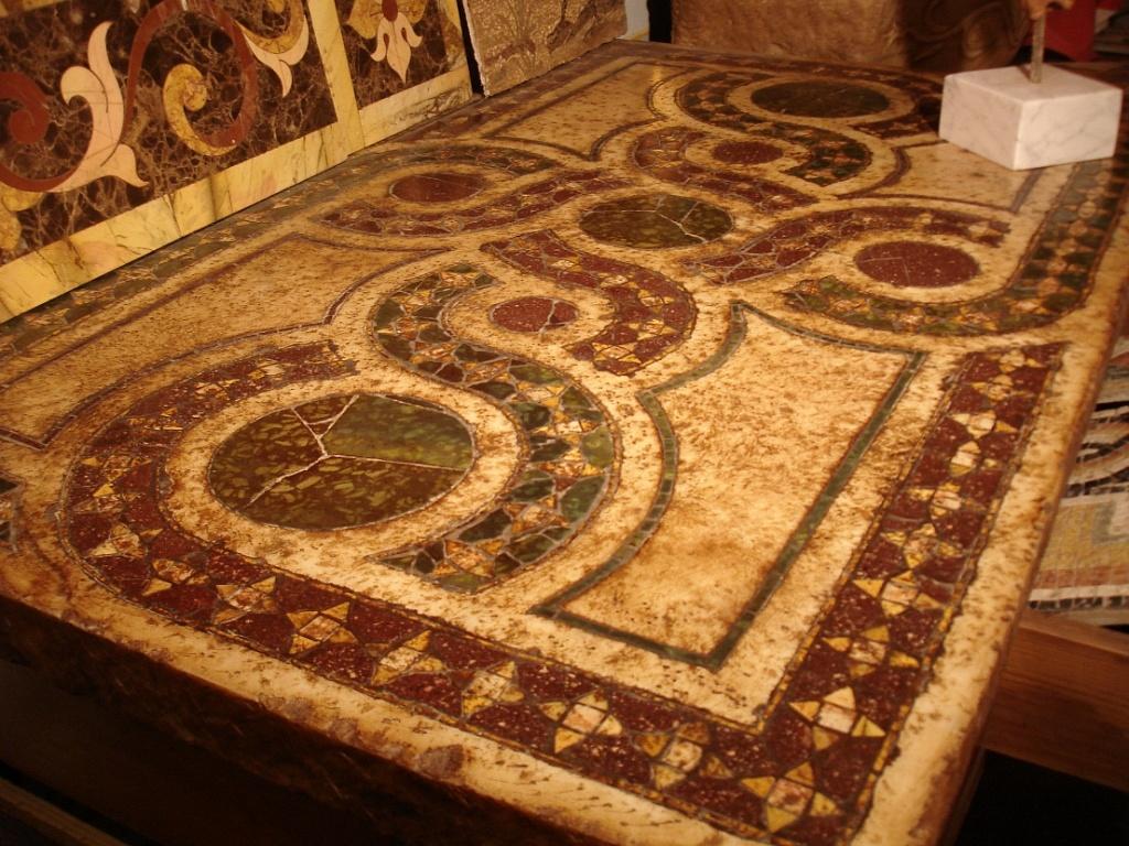 La Bottega delle Arti Antiche  Pavimenti intarsiati in marmo e pietra   TrovaPavimentiit