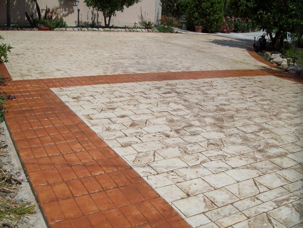 stonesud sas  pavimenti in calcestruzzo stampato
