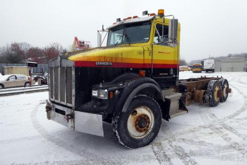 small resolution of year 1995 make kenworth model t800 type tri axle cab and chassis truck motor cat 3406c mech 425 hp air to air yes engine brake jake wetline no