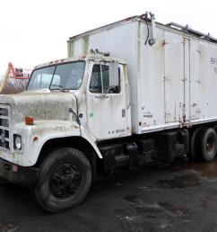 make international model f2275 type tandem axle box truck motor cummins bc3 mech 350 hp sold 3 16 19 engine brake no air to air no [ 1200 x 802 Pixel ]