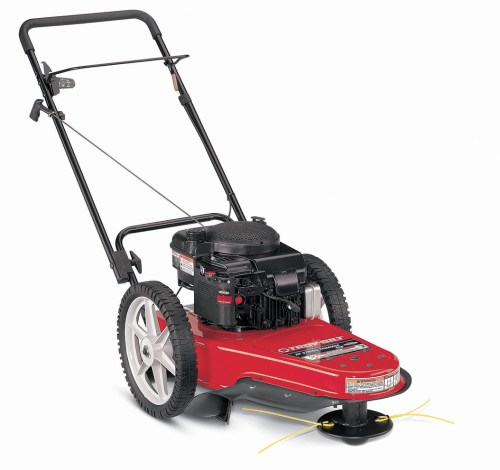 small resolution of troy bilt wheeled trimmer