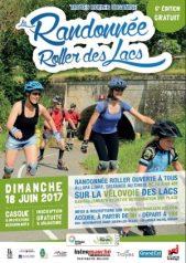 Venez à la Randonnée Roller des Lacs 2017