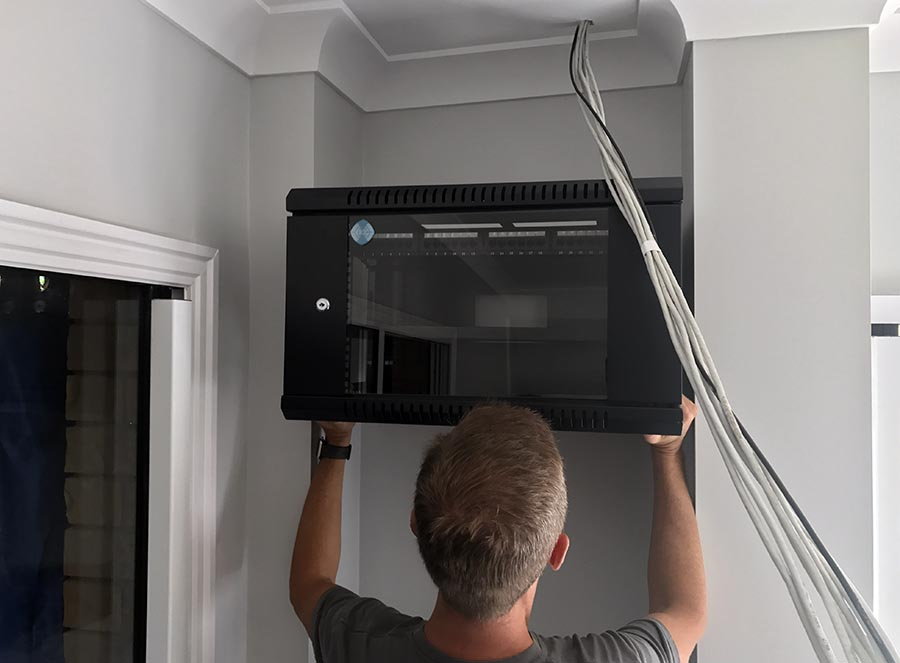 Troy Hunt Wiring a home network from the groundup with