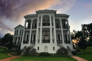 Hathaway Hall in The River Road is obviously Nottoway; Nottoway Plantation by Ludovic Bertron from New York City, USA, via Wikimedia Commons.