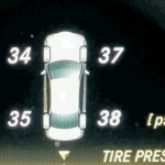 The other day a ping emanated from my dashboard; a diagram of the car lit up and the pressure in each tire was displayed.