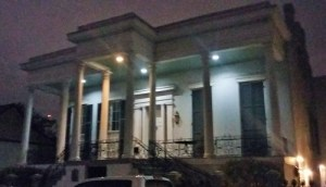 Xiques House, the stunning 1852 Greek Revival mansion that once housed a gambling hall so decadent that the even the degenerate city of New Orleans shut it down.