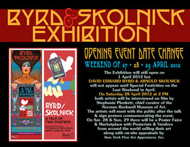 Byrd & Skolnick Exhibition - April 28, 2012