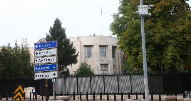 Ankara Kavaklıdere'deki ABD Büyükelçiliği'nin yeni 1 numarasını oldukça zorlu bir süreç bekliyor. Foto: AA