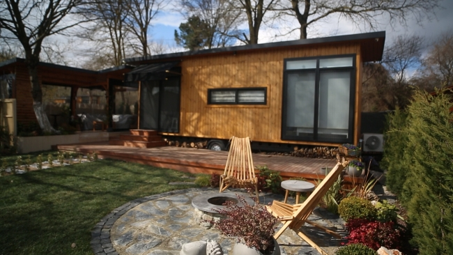 Salgından kaçışın yeni adresi: Tiny House