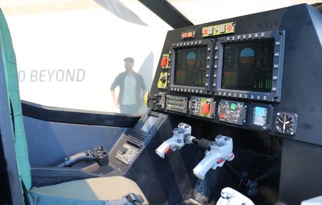TUSAŞ, Ağır Sınıf Taarruz Helikopteri olan Atak-2'yi ilk kez IDEF'19'da vitrine çıkarmıştı. Foto: AA