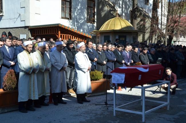 Hanau saldırısında yaşamını yitiren Fatih Saraçoğlu, Çorum'da toprağa verildi.   Fotoğraf: AA