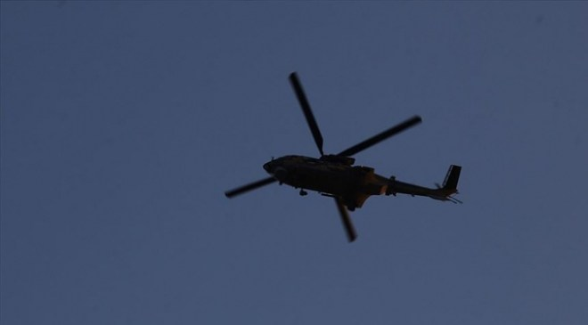 Gürcistanda helikopter düştü: 3 ölü