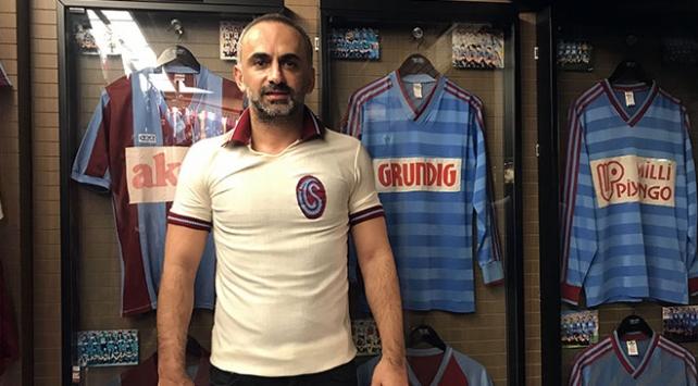 Trabzonspor aşkı evde müze kurdurdu