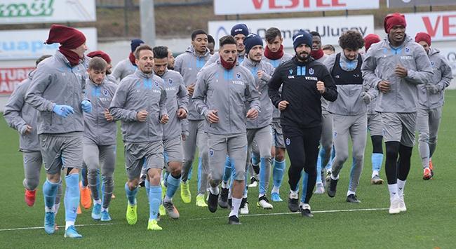 Trabzonspor Denizlispor maçı hazırlıklarına başladı