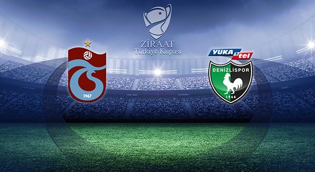 Trabzonspor kupada Denizlisporu konuk edecek