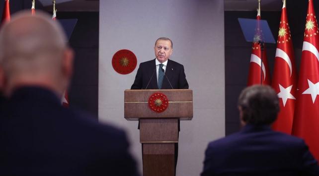 Cumhurbaşkanı Erdoğan: Bu hafta sokağa çıkma kısıtlaması 3 gün