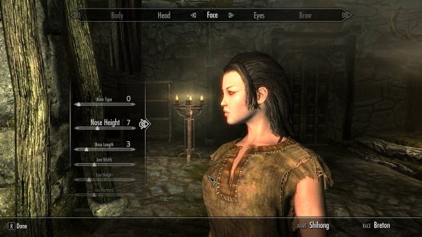 War Baby Shihong Female Breton Skyrim Nexus Mods - Year of