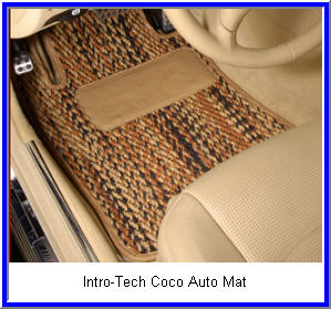 Automotive Floor Mats Made from Coconut Husks