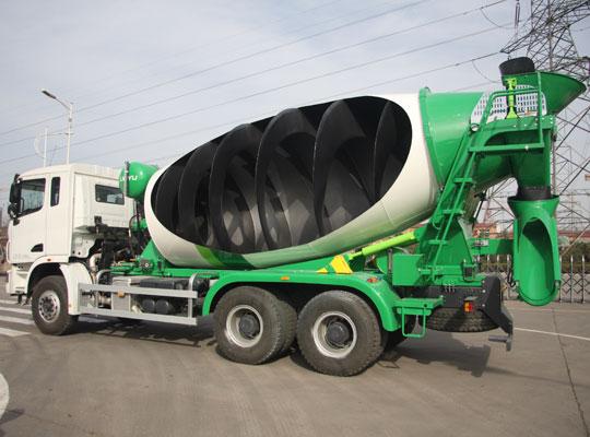 concrete mixer truck haomei