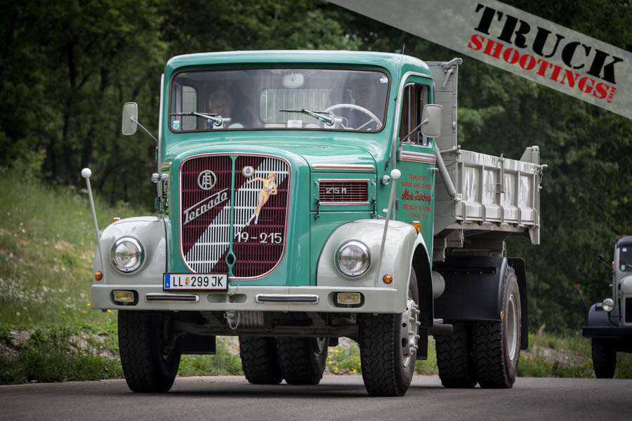 Oldtimer LKW am Red Bull Ring in A Spielberg