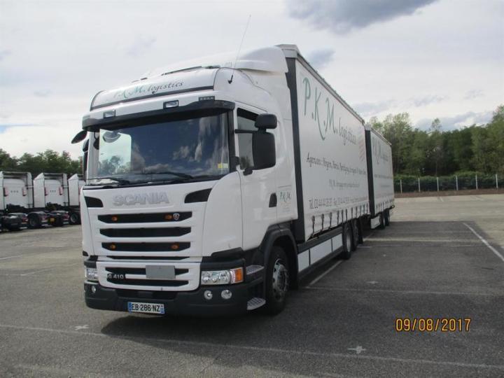 Curtainsider Truck Scania G410