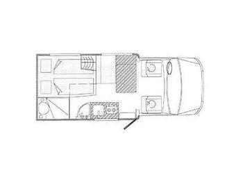 Hehn Rheinstar Styling 570 ALKOVEN camper van from Germany