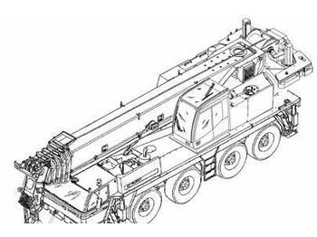 Tadano Faun ATF 50-3 all terrain crane from United Kingdom