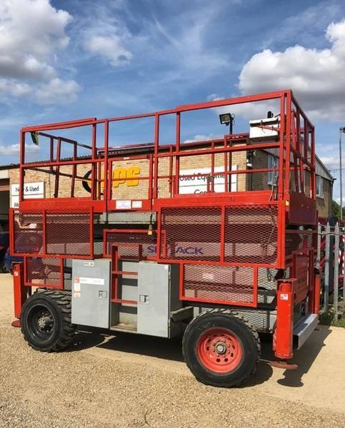 SkyJack SJ 8841 D scissor lift from United Kingdom for sale at Truck1. ID: 3205554