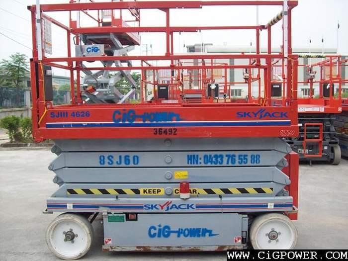 USed Skyjack Scissor Lift SJIII 4626 scissor lift from Taiwan for sale at Truck1. ID: 1852462