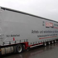 Semi Trailers For Sale In Germany Precision Bass Wiring Diagram Dinkel 4-achs-tele-sattelauflieger - Mega Low Loader Semi-trailer From At ...