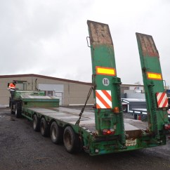 Semi Trailers For Sale In Germany Goldwing Cb Wiring Diagram Faymonville Stz-4a, 4 Axles, Teleskop Rampen Low Loader Semi-trailer From At ...