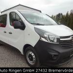 Minibus Opel Vivaro 1 6 Cdti Biturbo Kombi L2h1 Euro 6 1 Hand From Germany 14500 Eur For Sale Id 4447529