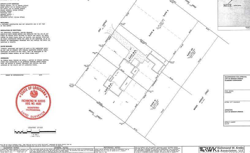 #Project 7-37 Re Subdivision Survey Shellys Homesites
