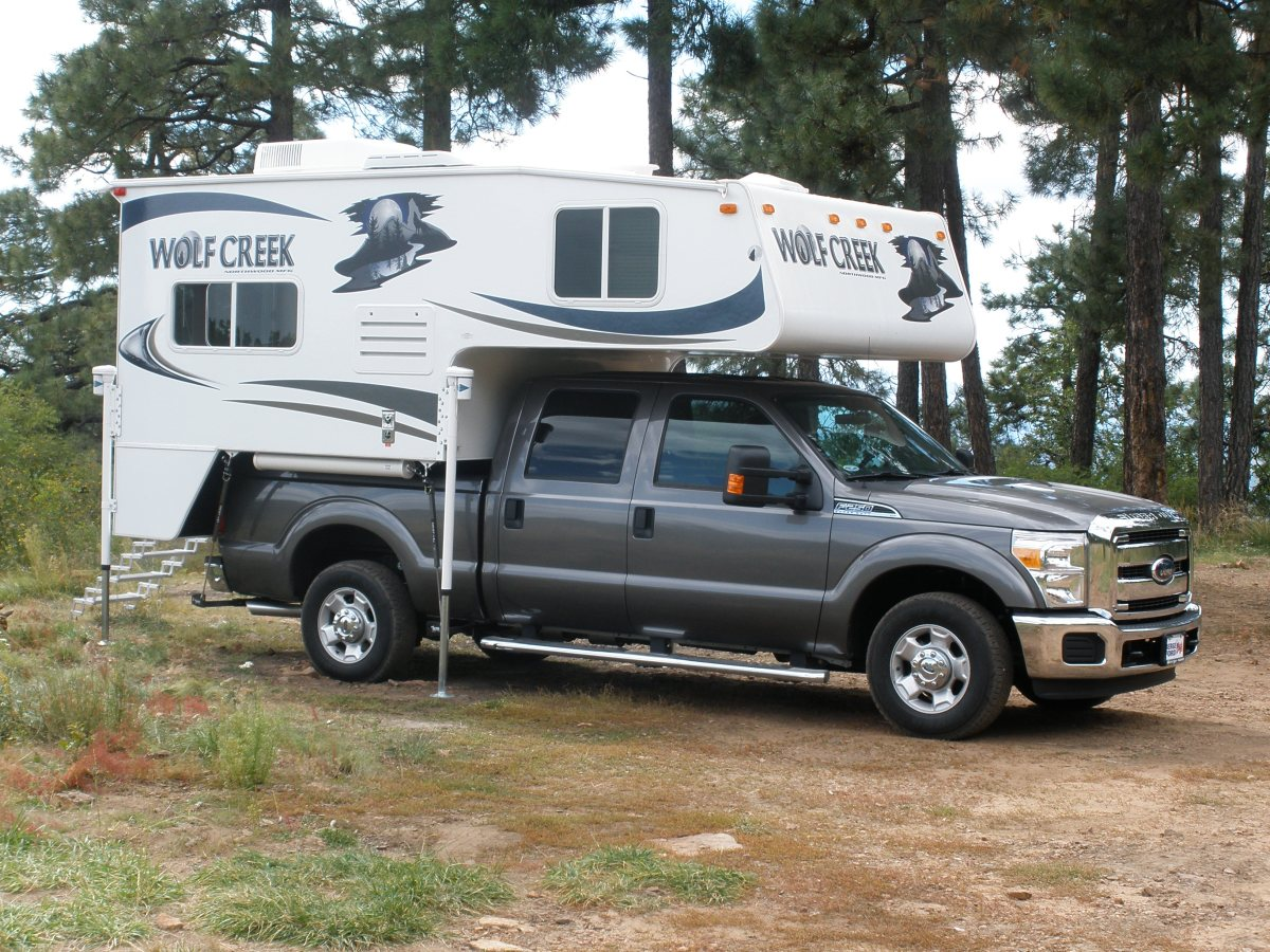 Unique Video Tour Of A 2011 Wolf Creek 850 Truck Camper U2013 Truck Camper Adventure