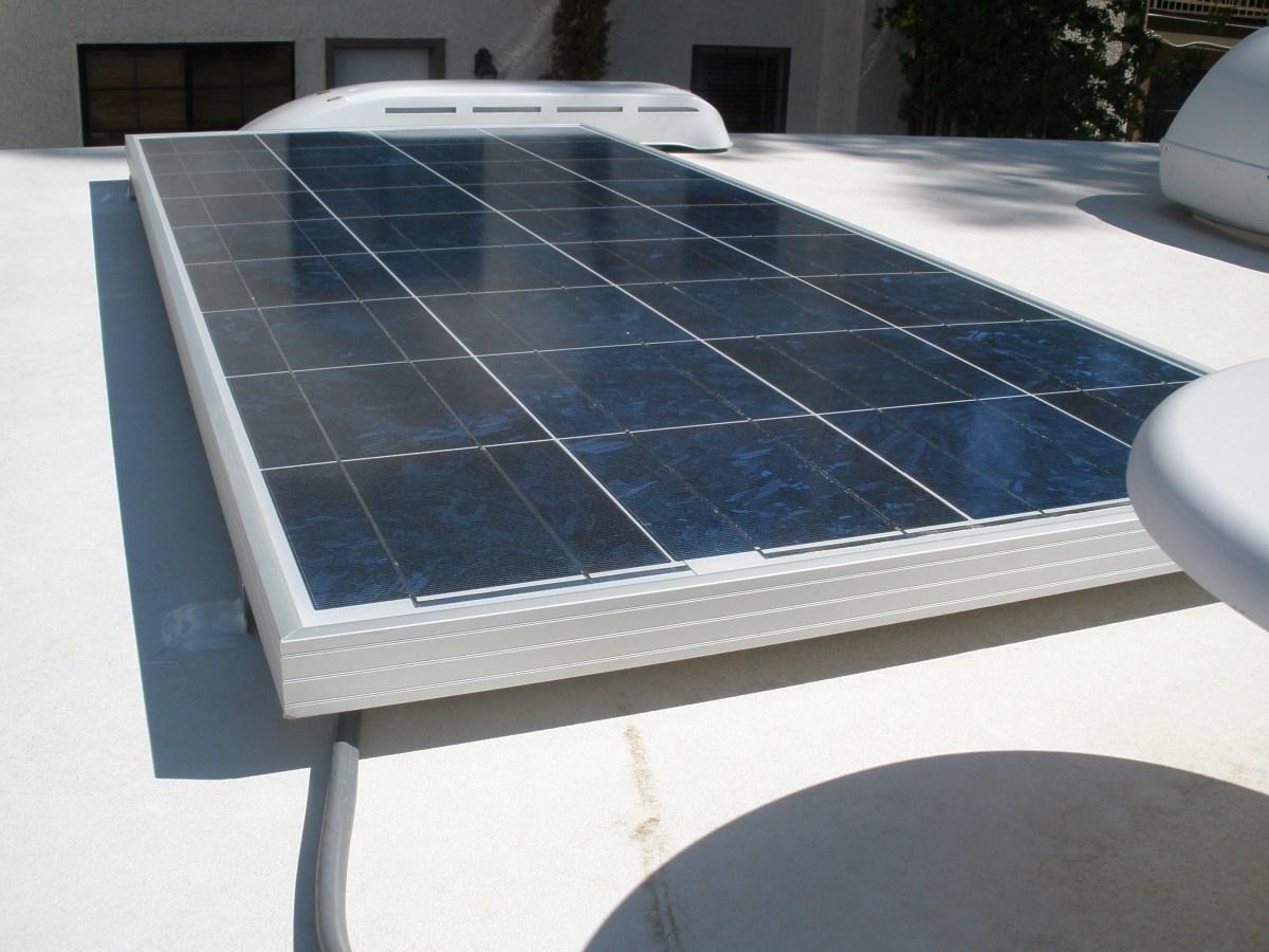 Solar Power Installation Phase I Truck Camper Adventure