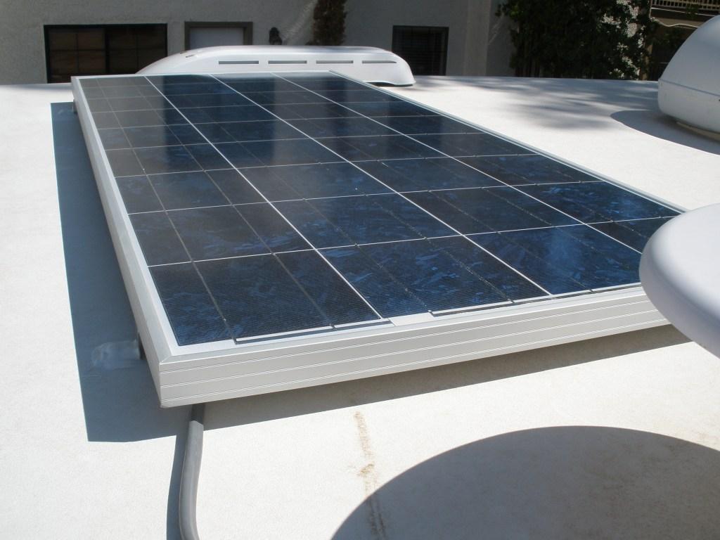 Solar Power Installation Phase I Truck Camper Adventure Panel Junction Box Wiring Rv 12 Volt