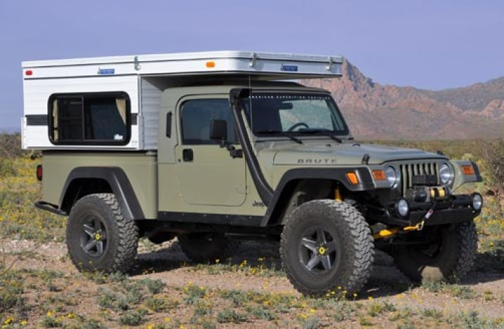 TJ Brute with Four Wheel Camper