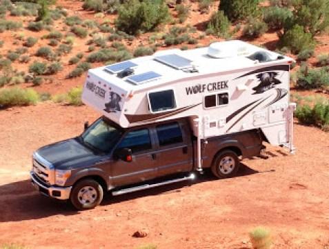 Truck Camper Solar Power Panels