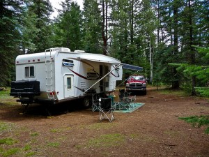 Fifth Wheel Boondocking