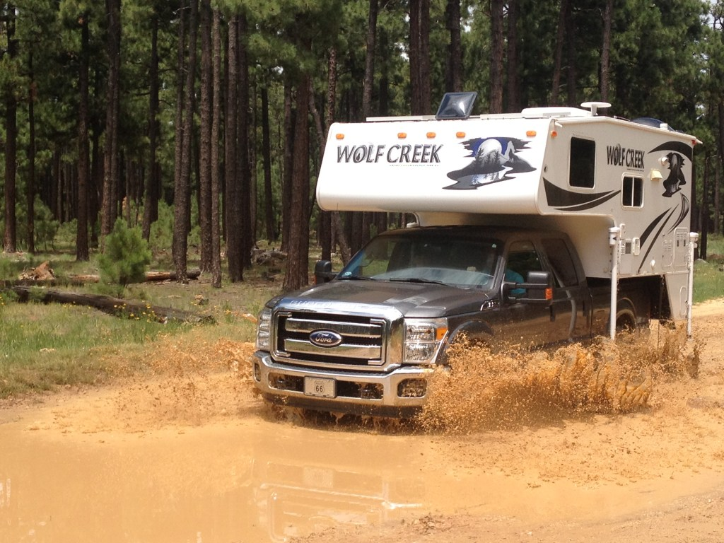 RV Rainwater Collection System | Truck Camper Adventure