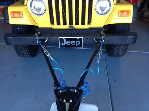 6 Easy Steps to Flat Tow a Jeep Wrangler Truck Camper