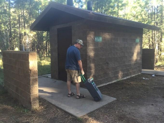 Thetford Cassette Toilet - Truck Camper Adventure