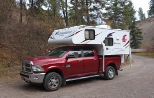 Adventurer 80RB - half-ton truck camper - Truck Camper Adventure
