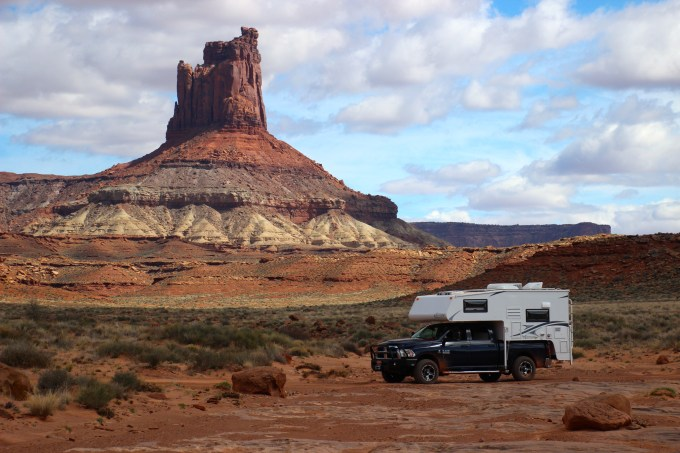 White Rim Trail - Green River Pass - Truck Camper Adventure