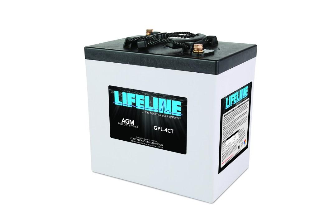 Lifeline AGM GPL-4CT Battery - Truck Camper Adventure